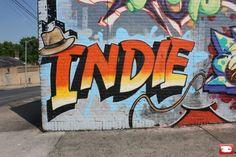 ღღ Piece By Indie 184 - New York City (NY) - Street-art and Graffiti | FatCap