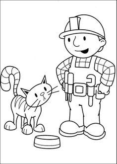 Bauarbeiter ausmalbilder  ausmalbilder wendy – Ausmalbilder für kinder | Malvorlagen ...