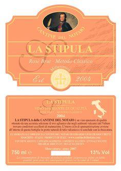 La Stipula Spumante Rosè Brut Metodo Classico Millesimato Cantine del Notaio. http://www.cantinedelnotaio.it/it/prodotti/?idmenu1=21&idmenu2=&idProdotto=7