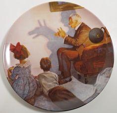 1987 Norman Rockwell Collectors Plate by PTurnbullandBishop, $5.00