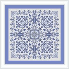 Cross-stitch pattern - a small sampler Snowflake 1 - pdf format - one color any fabric ONLY PATTERN Design consists of elements of schemes from old magazines Stitches used: X-stitch For this pattern you need 1 color SIZE: Design Area: 191w X 191h Stitches 14 Count, 34.65w X 34.65h cm
