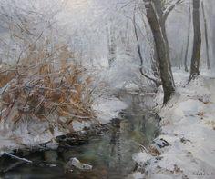 Vitaly Makarov - Stream Kapelny. Winter.