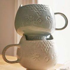 Ceramic Owl Mug - Urban Outfitters