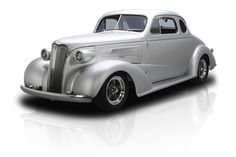 1937 Chevrolet Business Coupe Frame Off Built Steel Business Coupe ZZ4/355 HP V8 700R4 4 Speed A/C