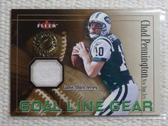 $3.99 2001 Fleer Authority CHAD PENNINGTON Goal Line Gear Jersey Card JSY Jets #NewYorkJets http://www.ebay.com/itm/2001-Fleer-Authority-CHAD-PENNINGTON-Goal-Line-Gear-Jersey-Card-JSY-Jets-/282052863098?ssPageName=STRK:MESE:IT