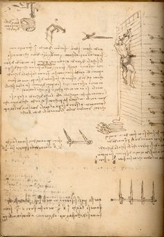 Study from the Manuscripts, Leonardo da Vinci