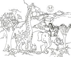 malvorlage schöpfung | malvorlagen tiere, ausmalbilder