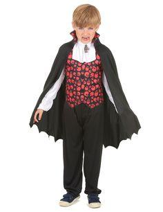 Este disfraz es ideal para convertirte en un tétrico y malvado  vampiro en…