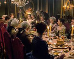 Behind the Scenes of Season 2 of the Outlander Series on Starz Photos | Architectural Digest