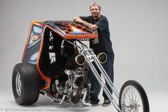 J.P. Rodman & His Knucklehead Trike