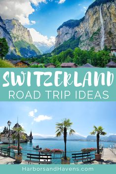 This Switzerland road trip itinerary will take you to stunning Switzerland attractions like waterfalls, emerald lakes, and picturesque valley towns. Things to do in Switzerland Switzerland Travel Guide, Switzerland Tour, Switzerland Itinerary, Switzerland Cities, Switzerland Vacation, Road Trip Europe, Road Trip Destinations, Road Trip Hacks, Roadtrip