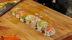 How to make rainbow sushi rolls - Learn how to create stunning sushi dishes with the guidance of self-taught sushi chef, Davy Devaux.