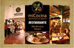 miCocina restaurante Villa de Leyva | Academia de Cocina Verde Oliva | Cursos de cocina, diplomados, carrera de chef, carrera de cocinero, cocinero profesional , bogota colombia, villa de leyva.  A great restaurant and a cooking school!  I had an unbelievable Lomo and others had spectacular tongue!   If you are in the Pueblo staying they also offer half day cooking classes on Saturdays!