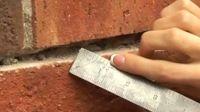 How-to make brick mortar repairs. #diy #howto