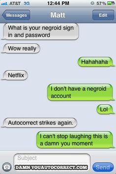 funny auto-correct texts - Password