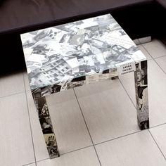 DIY: Tisch mit Fotos