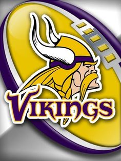 Minnesota Vikings Wallpaper, Nfl Vikings, Minnesota Vikings Football, Nfl Seahawks, Nfl Broncos, Football Team, Football Nails, Viking Logo, Viking Helmet