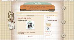 Grafic Scribbles: ...e il template per Caterina
