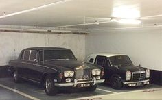 Rolls-Royce Silver Shadow and Wood & Pickett Mini Margrave Classic Mini, Classic Cars, Margrave, Rolls Royce Silver Shadow, Old School Cars, Mystery Minis, Slums, Mini Me, Rollers