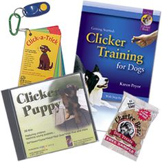 Clicker Training KPKTPUPPY Puppy Training Kit Plus - The total package for clicker training your dog!