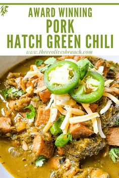 Green Chili Recipes, Hatch Chili, Mexican Food Recipes, Ethnic Recipes, Hatch Peppers, Green Enchilada Sauce, Spicy Soup, Pork Stew