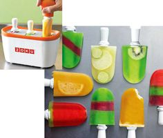 Zoku Quick Pop Maker: Ice cream is a widely loved treat, but it's full of calories, fat, and cholesterol. This Zoku Quick Pop Maker ($50) allows you to make lower-calorie frozen sweet treats in about seven minutes. And who doesn't love a Popsicle or frozen yogurt treat?