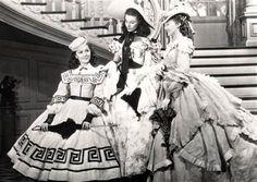 Miss Scarlett, Miss Suellen & Miss Careen   At The Wilkes BBQ