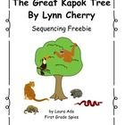 This is a simple sequencing activity to go along with the book The Great Kapok Tree.  This can be done as independent or small group work.  The act...