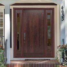 Avantguard Flagstaff Finished Smooth Fiberglass Prehung Front Door