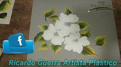 Pinceladas, flores de primavera con Miguel Rincón. One Stroke Painting, Painting & Drawing, Flower Bottle, Hibiscus, Folk Art, Floral, Acrylics, Drawings, Flowers