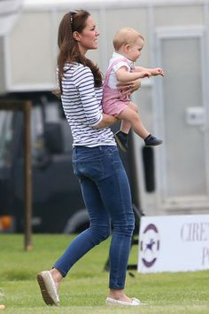 Pics: Prince George Throws a Tiny Tantrum at William's Polo Match | OK! Magazine
