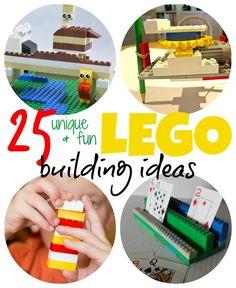 25 unique and fun LEGO building ideas for kids #AD #Love2Pley