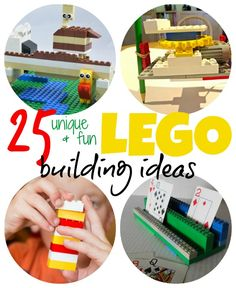 25 unique and fun LEGO building ideas for kids #AD #Love2Pley