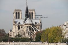Notre Dame Cathedral Paris France by nancyhehmann on Etsy, $30.00