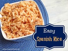 Spanish Rice Recipe - Easiest and Tastiest Rice Recipe. Super easy.