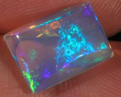 4.46CT~VERY BRIGHT WELO OPAL CAB~ROLLING FLASHFIRE. GORGEOUS