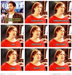 Miranda Hart. We're basically the same person. <3