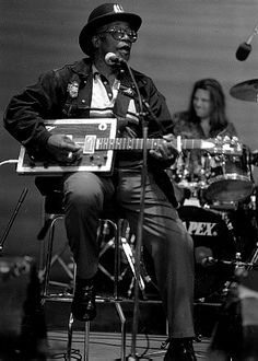 Bo Diddley...One of the greatest influences on modern rock and roll.