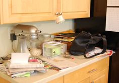 Not your average simple living blog. This woman knows and admits that sometimes life (and clutter) just happens!