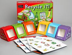 Recycle It! Game for ages 3+