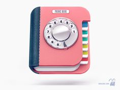 3d Icons Mix by Denis Krasavchikov, via Behance