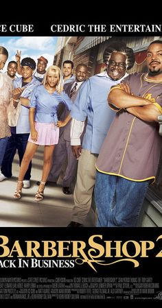 Directed by Kevin Rodney Sullivan. With Ice Cube, Cedric the Entertainer, Eve, Queen Latifah. Why not spend another day with the crew at Calvin's shop in the South Side of… Barber Shop 2, Sean Patrick Thomas, Troy Garity, Phil Hartman, South Side Chicago, Cedric The Entertainer, Mike Epps, Entertainment, Culture