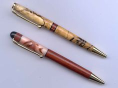 Pen Collection, Pen Turning, Corn Hole, Writing Pens, Woodturning, Writing Instruments, Penne, Lathe, Ballpoint Pen