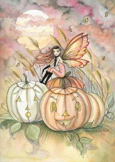 Molly Harrison Harvest Fairy - Halloween