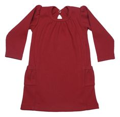 https://www.cityblis.com/4005/item/16876 | Dress Long Sleeve - $43 by Those Baby Basics | This classic long sleeve dress is picture perfect! With side pockets this dress is an excellent addition to your little ones wardrobe.   A surefire talker!   * Shipped within 24 hours  *Free shipping from $60  | #Dresses