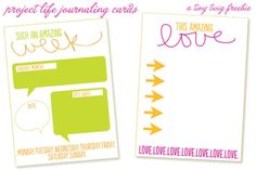 projectlife-week1freebie-example