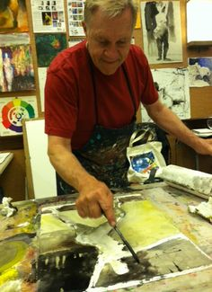 Learn Abstract Painting and Collage with Bob Burridge