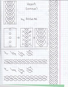 IMG_0003 by ArtCat86, via Flickr Love this Flickr group of Freehand doodle patterns. So many ideas with step by step drawings