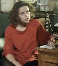 Julia Sawalha as the greatest female character Steven Moffat created, Lynda Day in Press Gang. Julia Sawalha, Keith Allen, Left Handed People, Steven Moffat, Female Characters, Actresses, Actors, Shit Happens, Worship