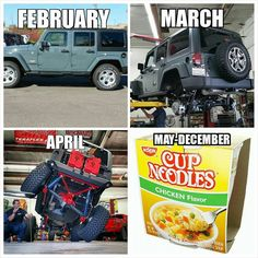 Stock up on Noodles and Shop for #Jeep stuff! http://blackdogmods.com